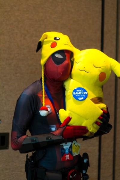 Deadpool & Pikachu