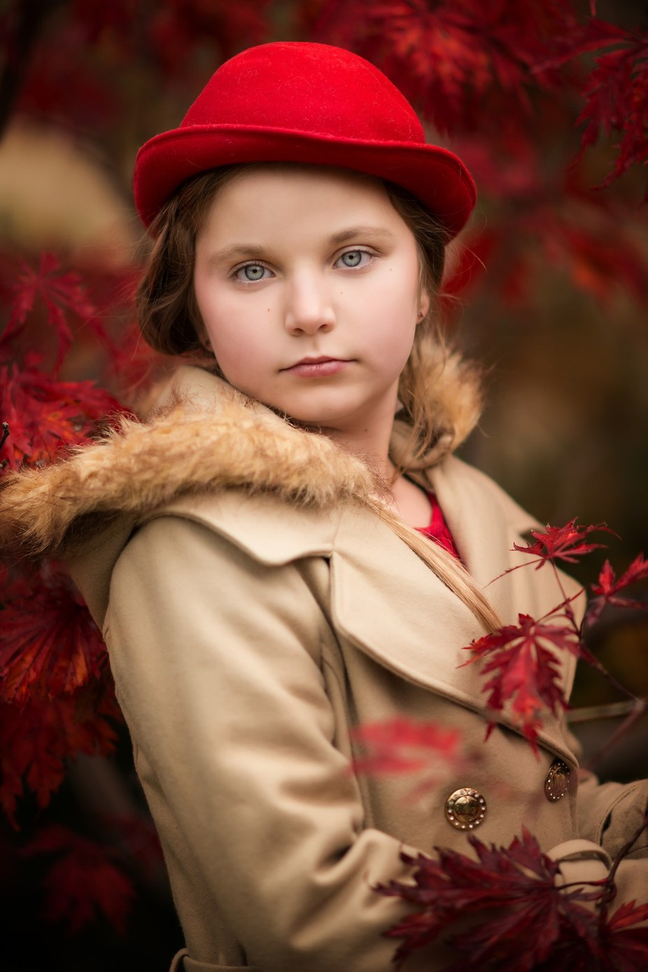 Fall by BonnieHillPhotography - Environmental Portraits Photo Contest