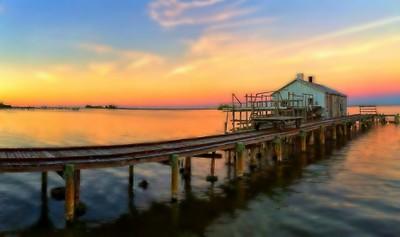 A train pier?
