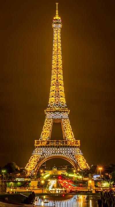 Blinking Lights - Eiffel Tower
