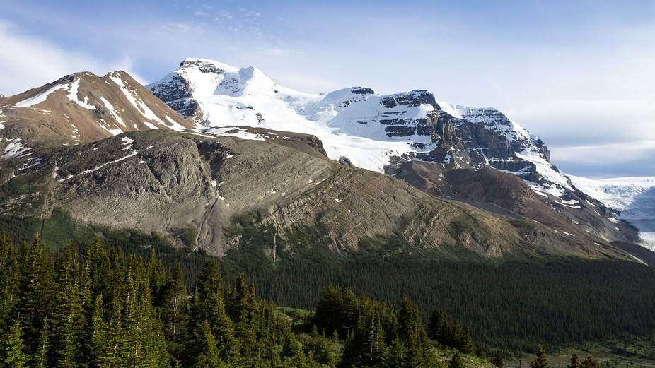 Mt. Athabasca in Jasper, Alberta.