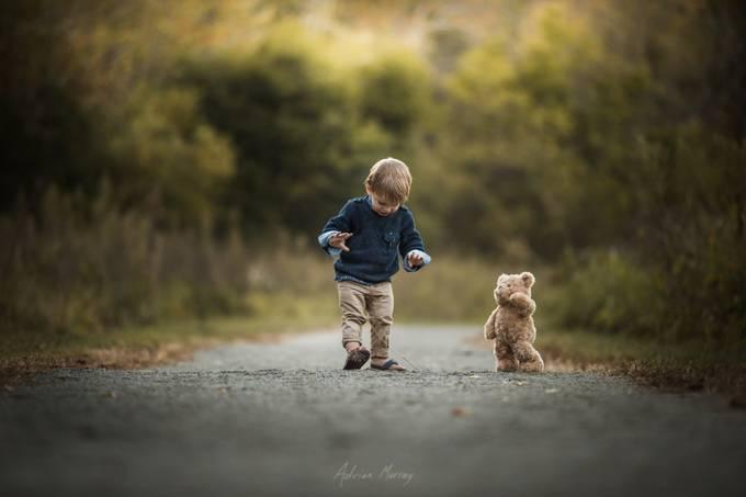 Dancing Teddy by adrianmurray