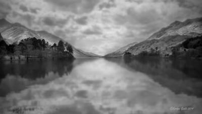Loch Shiel, Scotland B&W