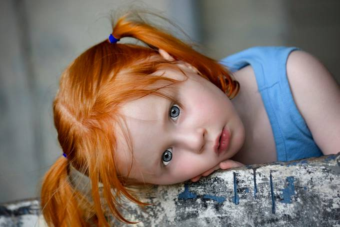 Red Headed Beauty by Gemgirlwv - Red Hair Photo Contest