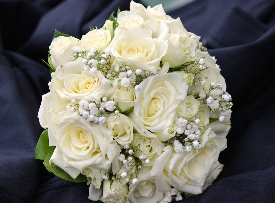 A beautiful and delicate wedding bouquet for that special day!