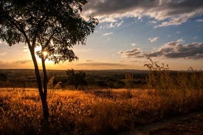 Sunset Over Zambia