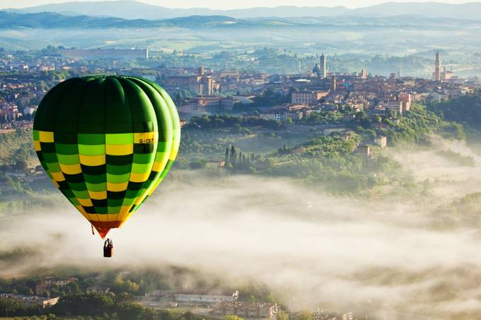 Over Siena by daveweber - Adventure Bound Photo Contest