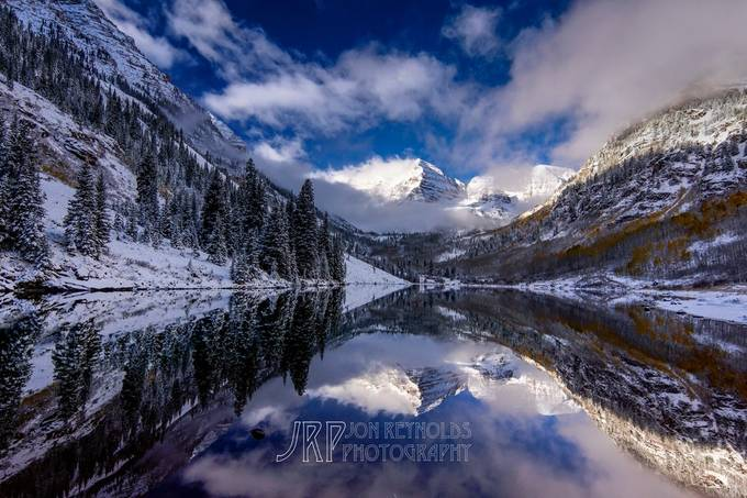 Maroon Bells in Late Fall by jonreynolds - Dodho Volume 4 Photo Contest