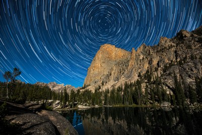 Shangri-La Star Trails