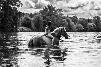 Horse-rider-in-river