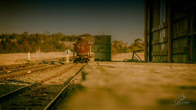 OldTimeRailway by Nafrea - Empty Railways Photo Contest