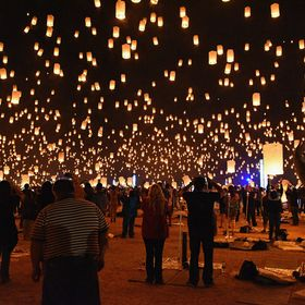 RiSE Lantern Festival - Las Vegas - First time in the US