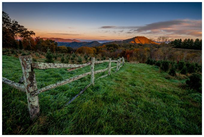 Mountain-on-fire by tazdevilgreg - Fences Photo Contest