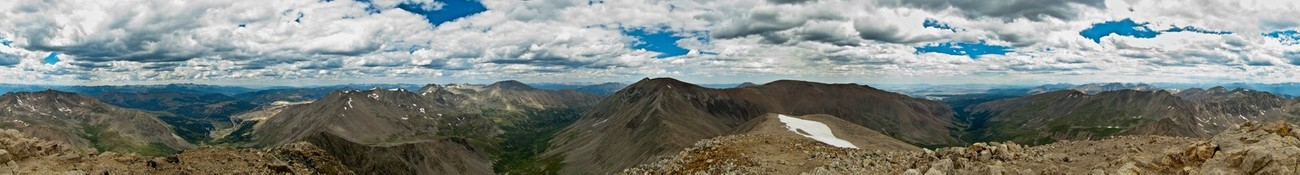 Mount Democrat - Night in the tent, Mountain Bike ride to Trail Head, Hike to summit - Priceless