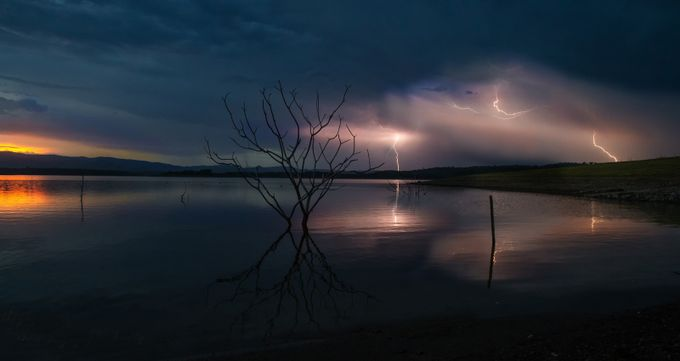 Storm over Samsonvale by capeyork - Dark And Bright Photo Contest