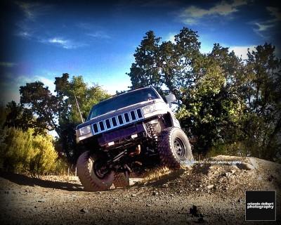 Flexing my Jeep Grand Cherokee