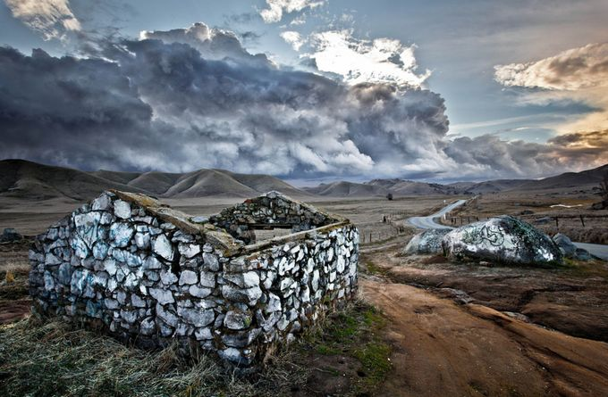 Storm Over Yokohl Valley by fronteras - HDR Landscapes Photo Contest