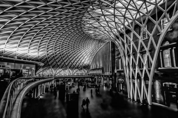 The Ghosts of Kings Cross by Carlw66 - Public Transport Hubs Photo Contest