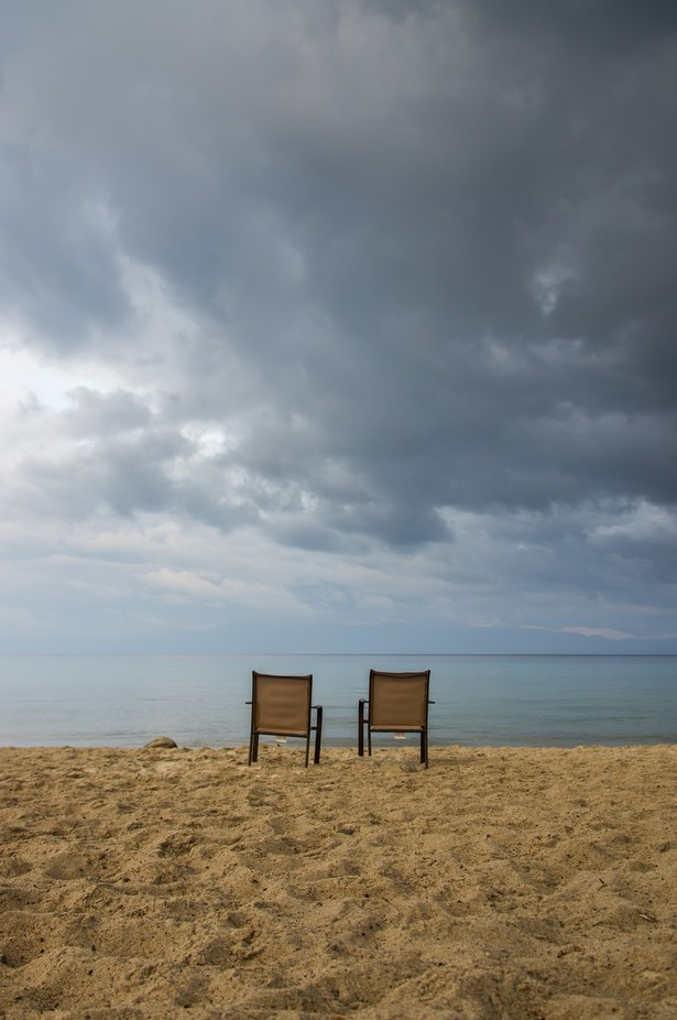 View from the beach by GafapastaPhotography - My Favorite Chair Photo Contest
