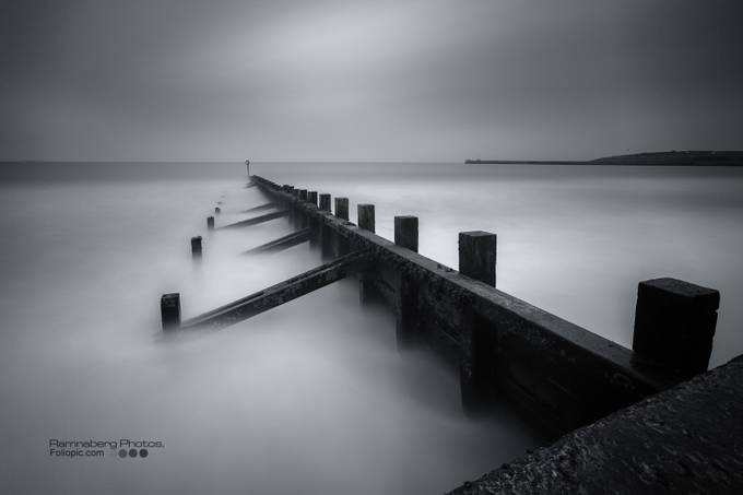 Aberdeen beach by ireid195 - A Black And White World Photo Contest