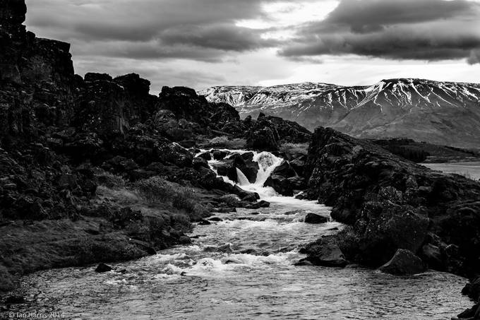 Iceland 2014 by SnapHarris - Black And White Compositions Photo Contest