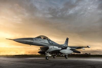 F-16C at Sunrise