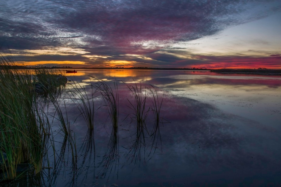 Back Bay Natural Wildlife Refuge, Virginia Beach, Va...Another fantastic sunset in one of my favo...