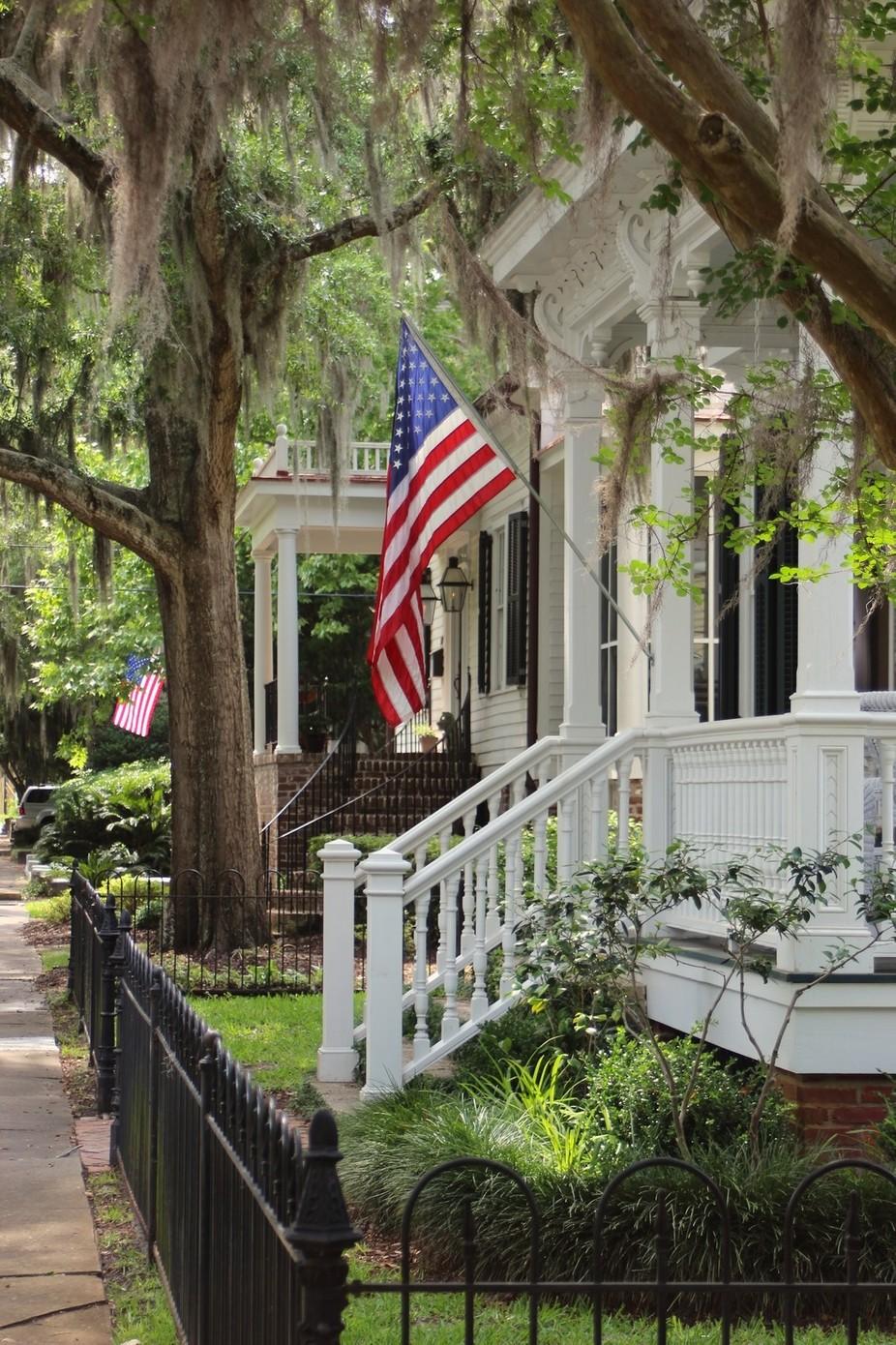 A historical home, Savannah, Georgia