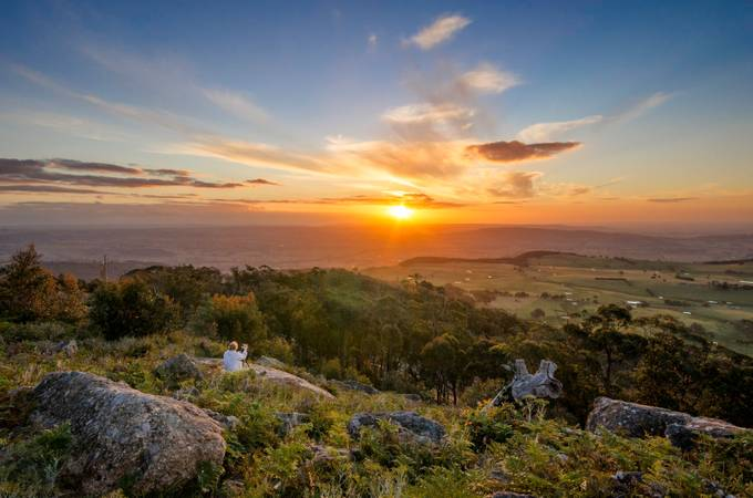 Mount Wombat Sunset by dylmorphoto - Amazing People Amazing Places Photo Contest