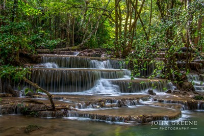 Waterfall Thailand.