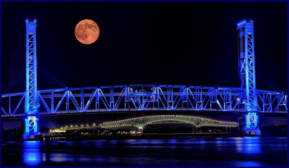 Taken in Jacksonville, Florida Main Street Bridge.