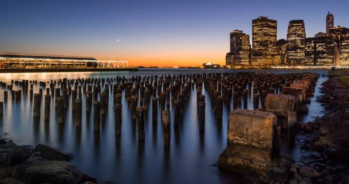 Down on the Rocks by dpgoldphotos - Sunset In The City Photo Contest