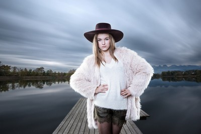 Lakeside Portrait