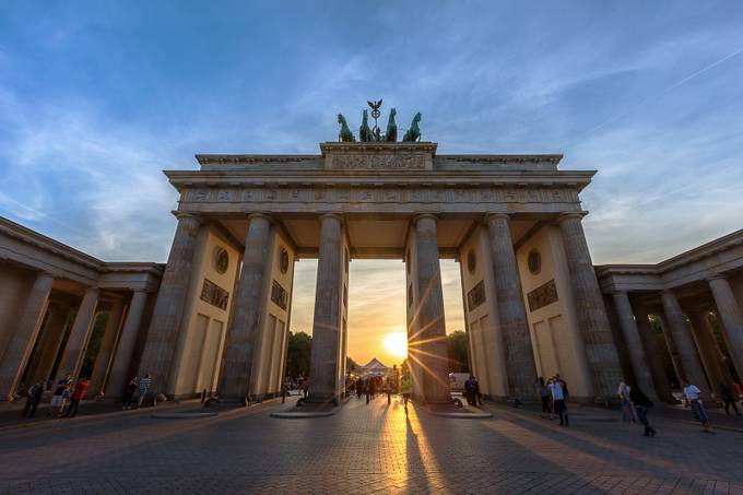 The Brandenburg Gate by mikemarshall - The Tourist Photo Contest