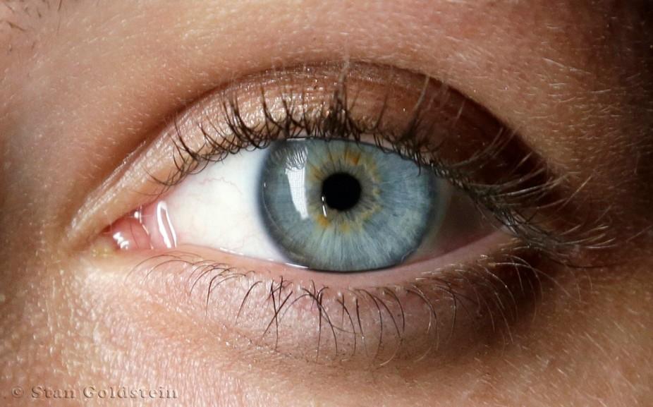 The Left Eye of model Erica Jay