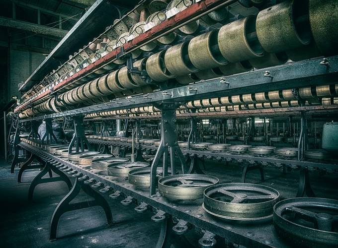 Machinery by ClaudiaKuhn - Shapes and Lines Photo Contest