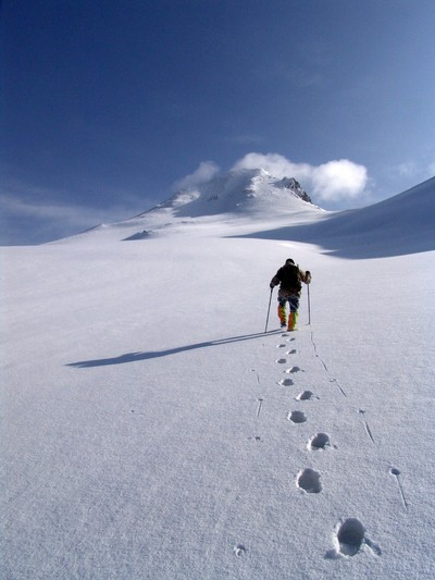 Climbing the top