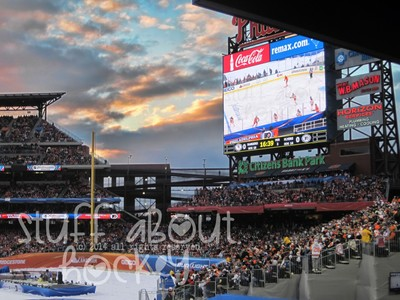 Stuff I Love About Hockey . . . Outdoor Hockey Games
