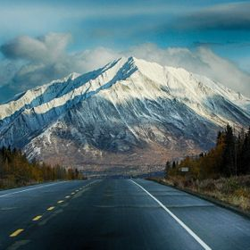 Alaskan roads are like no others