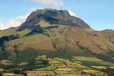 Mount Imbabura near Cotacachi Ecuador