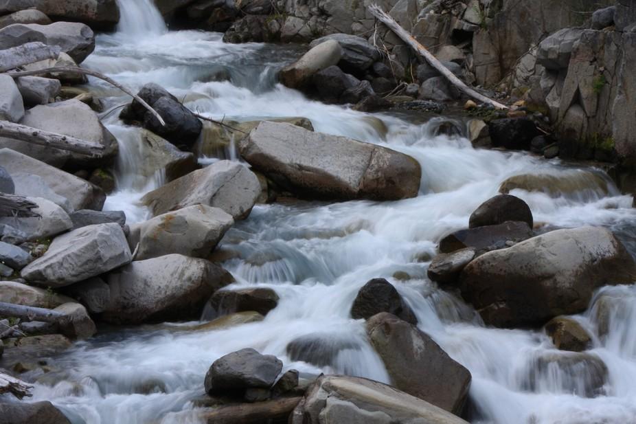 River in Mt Ranier