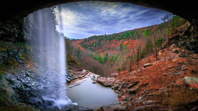 Kaaterskill Falls in the Winter by danfish - Visuals of Life Photo Contest
