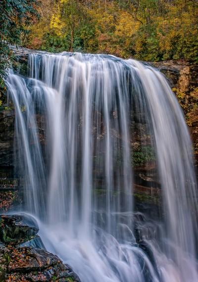 A Walk through A Waterfall