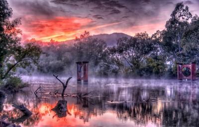 Mist & Light - Jingelic NSW-Walwa Victoria - The HDR Experience