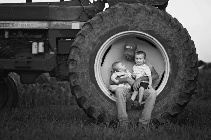 Family Farming by vbheatherkeever228836 - 500 Dads Photo Contest