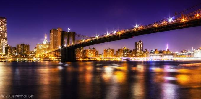 Brooklyn Bridge by NirmalGiri - Photos With Filters Photo Contest