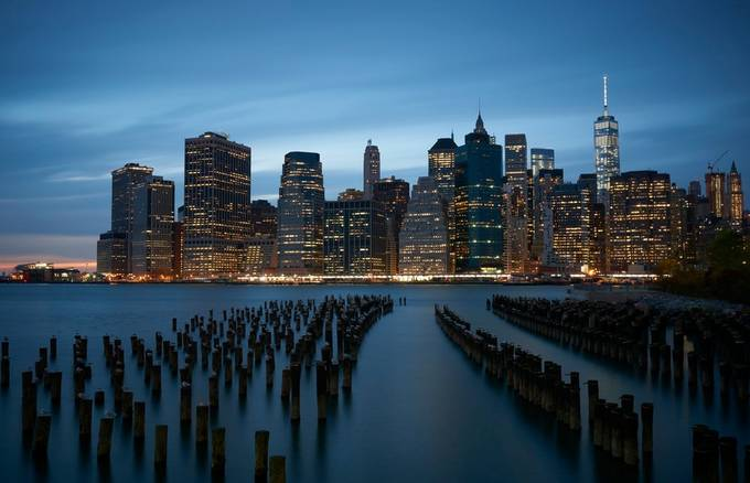 Manhattan Skyline by shanewheelphoto - New York Photo Contest