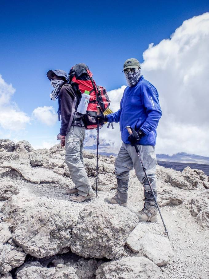 On the Flanks of Kilimanjaro by jimdelillo - Healthy Lifestyles Photo Contest