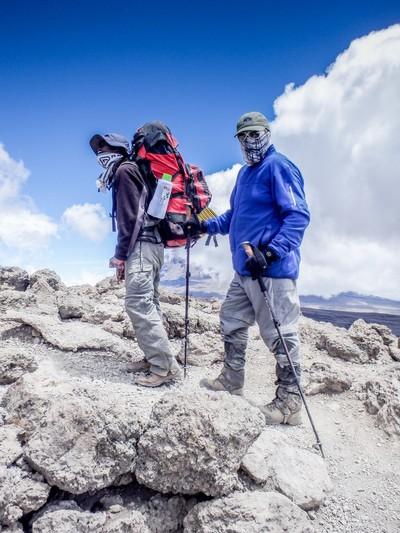 On the Flanks of Kilimanjaro