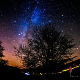 Milky Way...first attempt at Astro-photography  Near Coniston, Lake District, UK